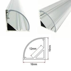 Image 4 - 5 adet/grup duvar köşe LED Bar ışık DC 12V 50cm SMD 5730 sert LED şerit ışık için mutfak kabine altında