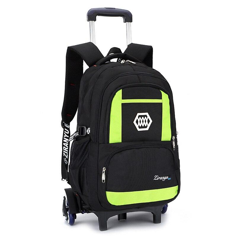 Enfants bagages de voyage Sacs À Roulettes sac à roulettes pour l'école Sac À Dos Sur roues enfants Chariot de Fille sac à dos d'école sacs à roulettes garçons