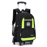 kids Travel luggage Rolling Bags School Trolley bag Backpack On wheels Girl's children Trolley School backpack wheeled bags boys