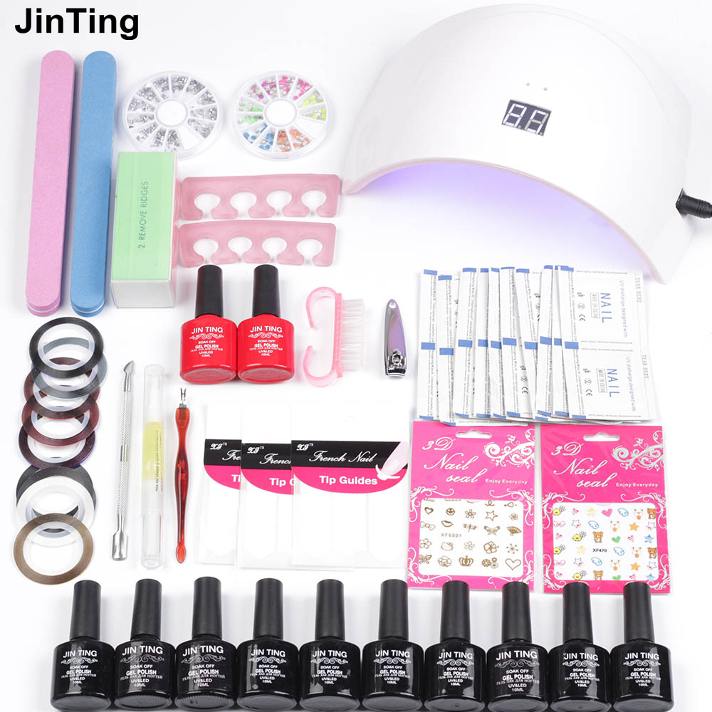Nail Polish Kits 36W UV or 48W Led 24W Display Nail 6W USB Dryer ...