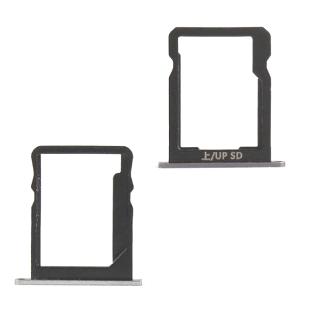 For Huawei P7 SIM Card Tray Holder + Micro SD Card Tray Slot Holder Replacement Part