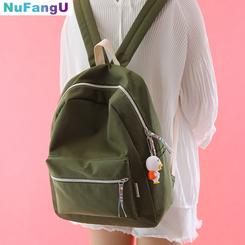 Simple fresh design pure color oxford women backpack fashion girls leisure bag school student book bag waterpoof travel bag pretty style pure color canvas women backpack college student school book bag leisure backpack travel bag
