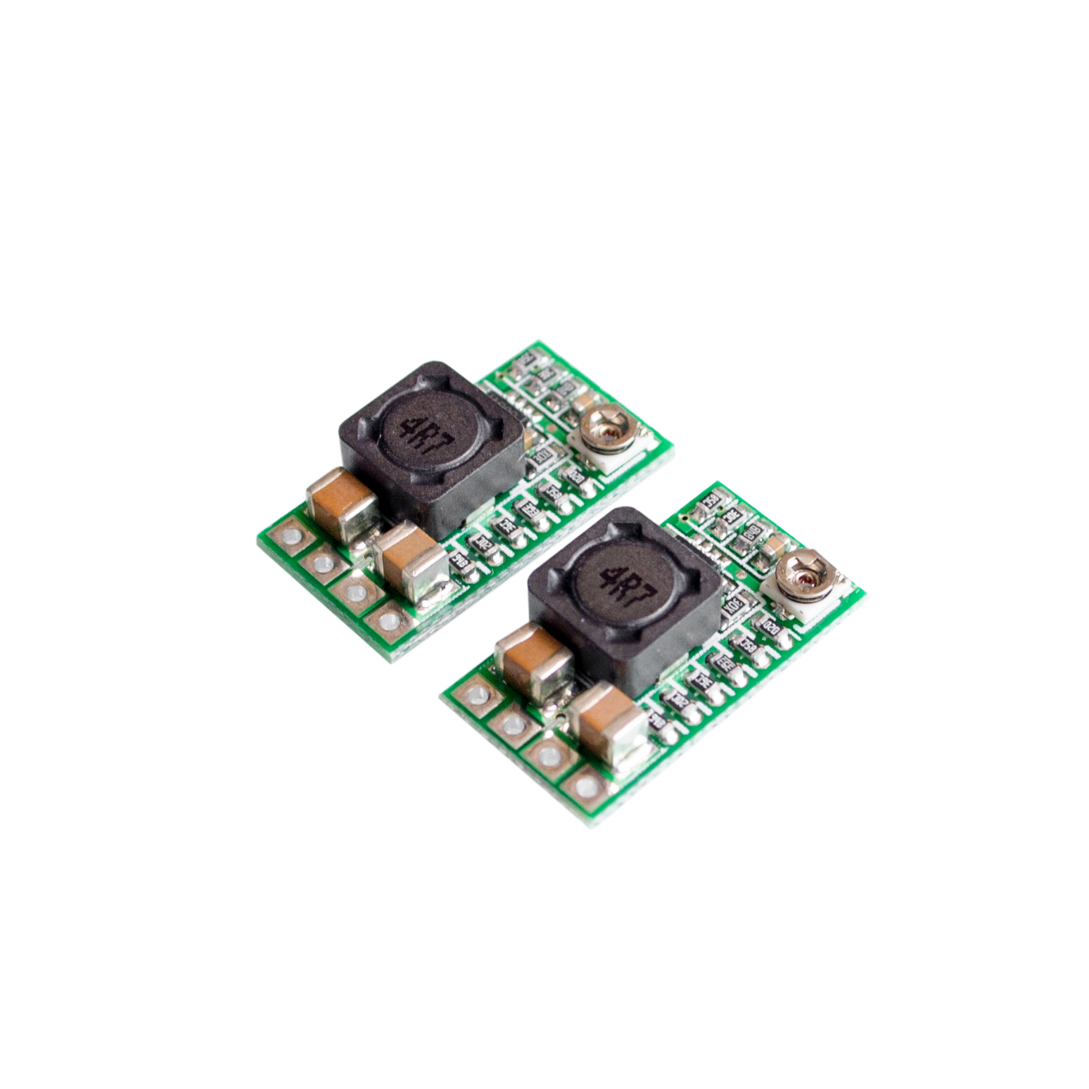 Image 3 - 10PCS/LOT Mini DC DC 12 24V To 5V 3A Step Down Power Supply Module Buck Converter Adjustable Efficiency 97.5%-in Integrated Circuits from Electronic Components & Supplies