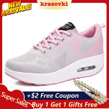 Krasovki Sneakers Women Casual Shoes Fitness Toning Dropshipping Breathable Comfortable For Walking Female Fashion
