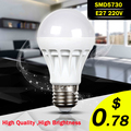 E27 Led Bulb 5730SMD 3W 5W 7W 9W 10W 12W LED Lamp, 220V Light Bulb For Home Led Spotlight Lamps High Power