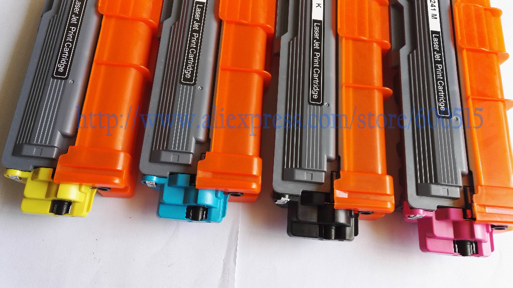 TN241 Toner Cartridge Compatible Brother HL-3140CW/3150CDN/3170CDW/MFC-9320/9330CDW/9340CDW/9130CW/9140CDN BK/M/C/Y 1pcs/Lot