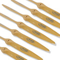 Flight Model Wood Wooden CW Propeller Prop For Gasoline RC Airplane 16x6 16x8 16x10 18x8 18x10 19x8 19x10 20x8 20x10 21x10 22x8