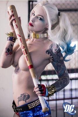Margot Robbie Harley Quinn Suicide Squad New Art Wall Decor Silk Print Poster