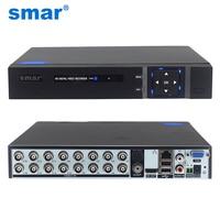 S mar 5 in 1 16CH 1080N AHD DVRไฮบริดVideo Recorderสนับสนุน1080จุดAHDกล้อง3MP 5MPกล้องIPระบบรักษาความปลอดภัยกล้องวงจรปิดOnvif