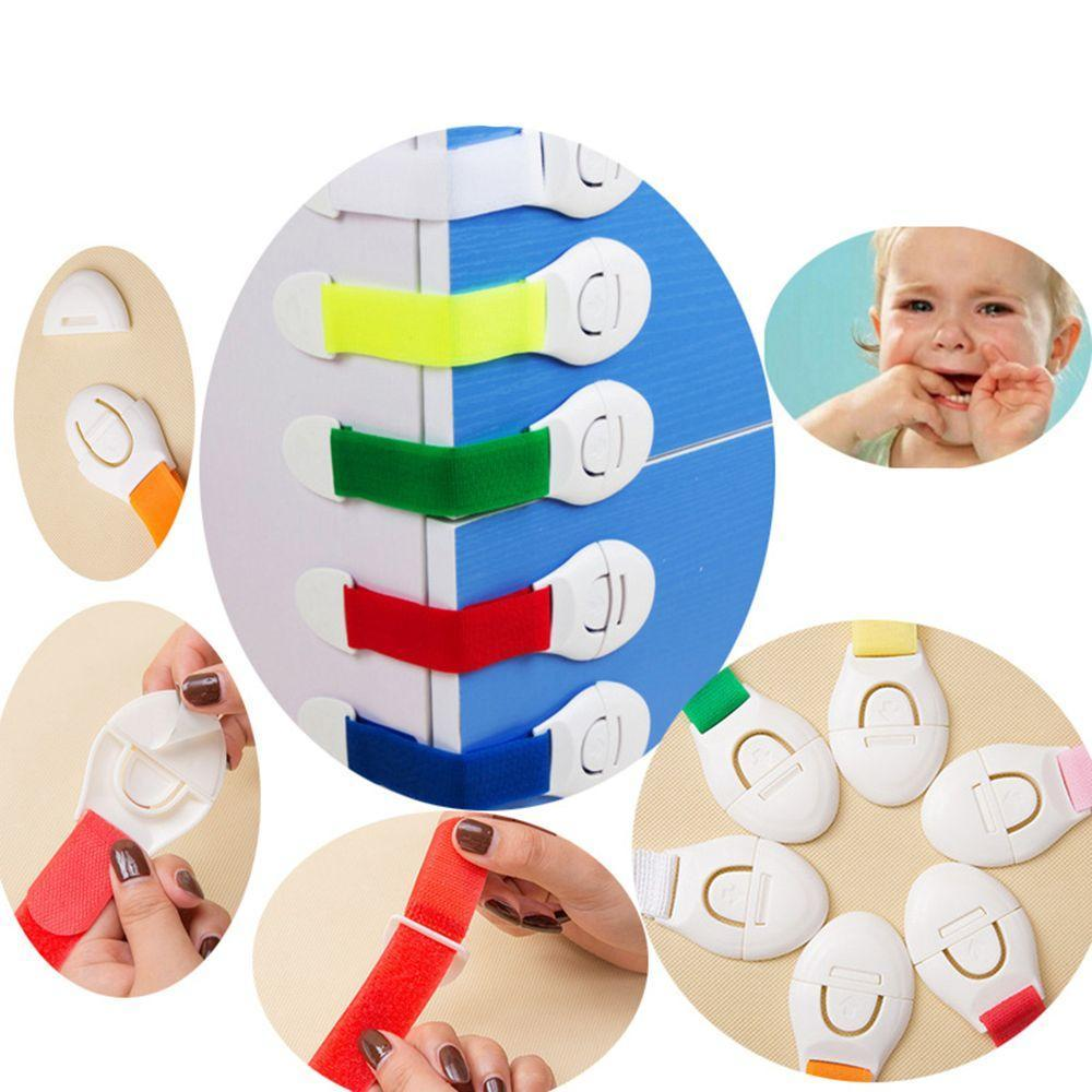 2Pcs Child Safety Protection Baby Safety Cute Security Card Door Stopper Baby Newborn Care Child Lock Protection From Children
