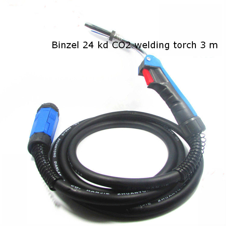 Binzel 24 kd CO2 MIG/MAG welding torch 3 m