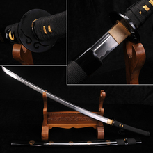 H-Quality Japanese Samurai Sword Fully Handmade T10 Steel+Clay Tempered Full Tang blade Funcation real Katana Collecation Sword