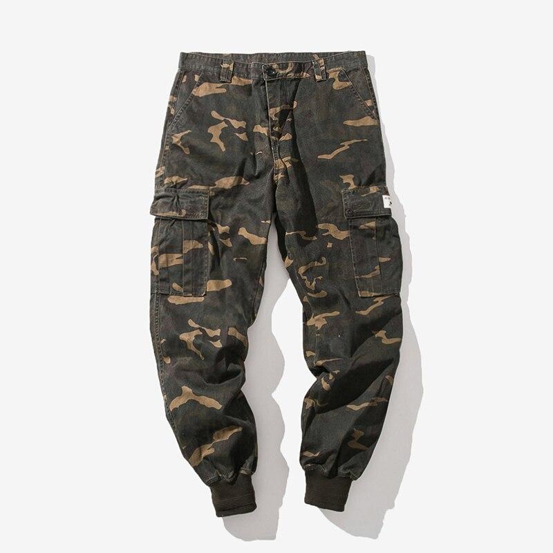 Military-Pants Multi-Pocket Camouflage Man Army Men Size-5xl