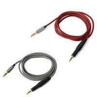 Replacement Audio nylon Cable For audio-technic ATH-M50x M40x M70x headphones