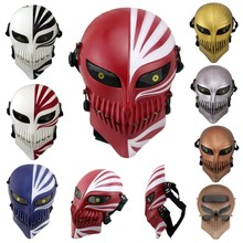 Cosplay Costumes Bleach Mask Tactical-Masks Skull Death Halloween Ichigo Props Masquerade