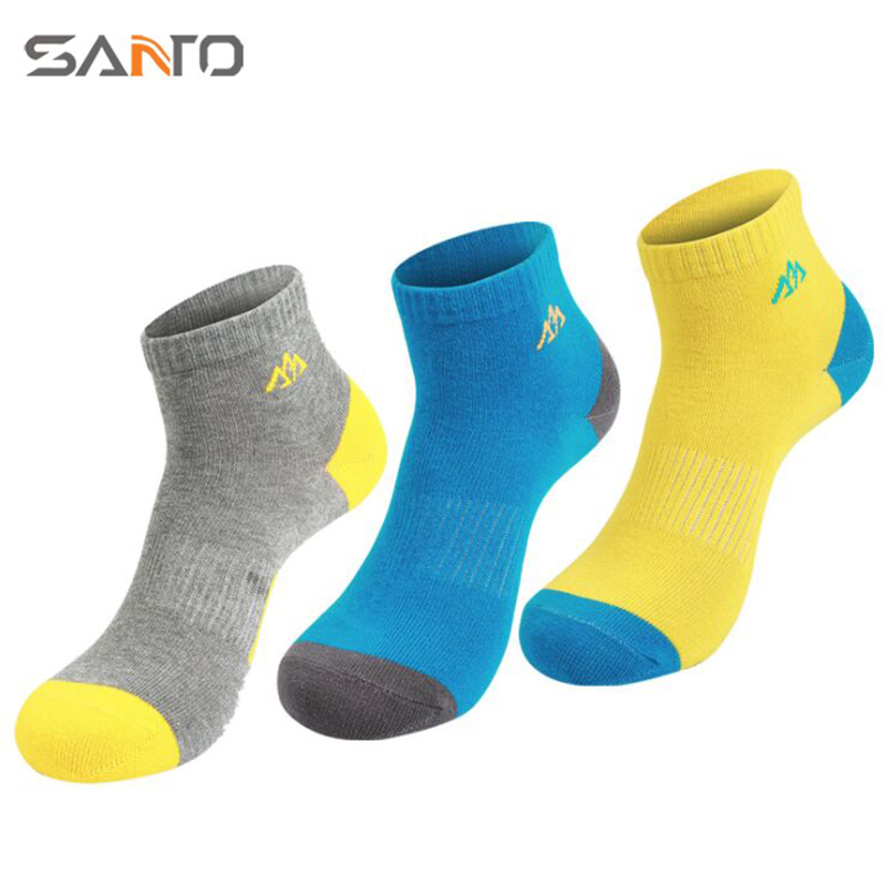 Quick Dry Cotton Sport Socks Summer Outdoor Thin Socks Short Sock Slippers Men/Women Running camping calcetines ciclismo 6 Color
