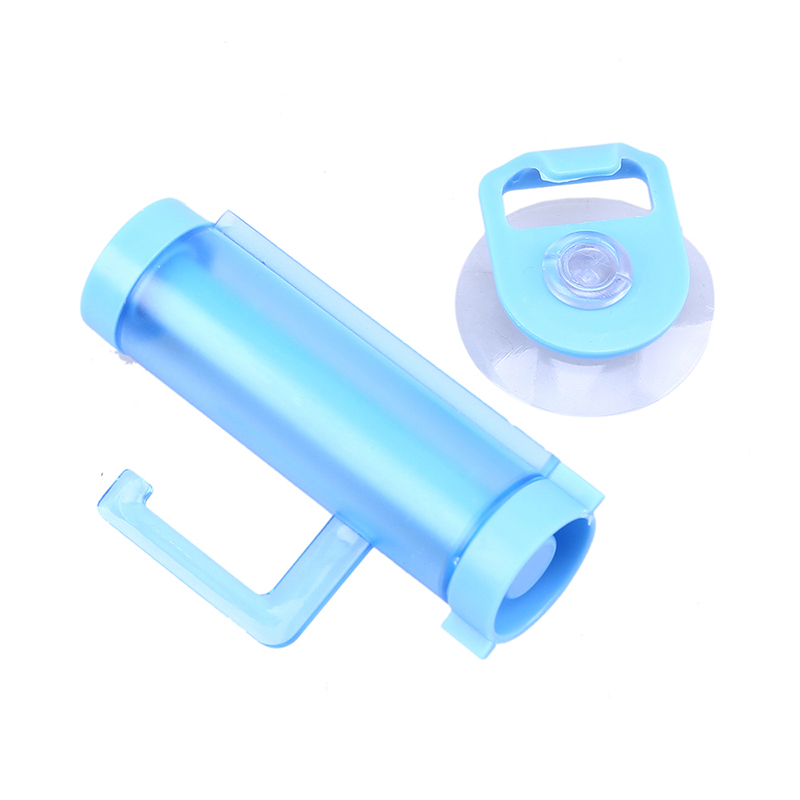 3 Set Plastic Rolling Squeezer Toothpaste Dispenser Tube Partner Sucker Hanging Holder Home Bathroom Accessories