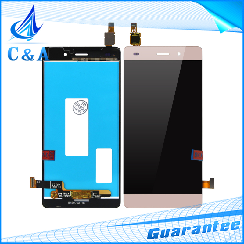 10 pcs Free DHL/EMS Post Tested New Replacement Parts 5'' Screen for Huawei P8 Lite Lcd Display with Touch Digitizer Assembly dhl ems 5 new for pro face touchscreen glass agp3300 l1 d24 f4