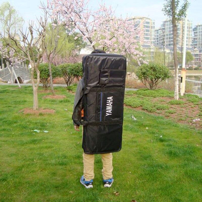 High Quality Portable 54 Key Keyboard Electric Piano Bag Padded Case Gig Bag Durable Oxford Cloth