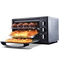 Forno de Pizza Forno de Padaria 30 Litro Tubo de Multi camada Superior e Inferior de Calor Forno Set Up para Bolos Caseiros multi função do Forno Elétrico|Fornos| |  -