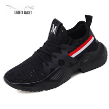 Fashion Mesh Men Running Sneakers Casual Sports Shoes For Men Lace-Up Male Footwear Summer Breathable Comfortable Men Shoes men s sneakers summer spring canvas leather breathable mesh mens brand running shoes comfortable lace up men sports shoes 13