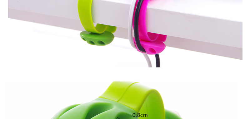 Cute Headphone Cord Wire Holder Rack Winder Desk Organizer Home Office Storage Stand Cute Table Cable Line Wrap Organization Hot_07