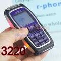 Nokia 3220 mobile remodelado telefone celular original gsm tri-band câmera azul um ano warranry presente