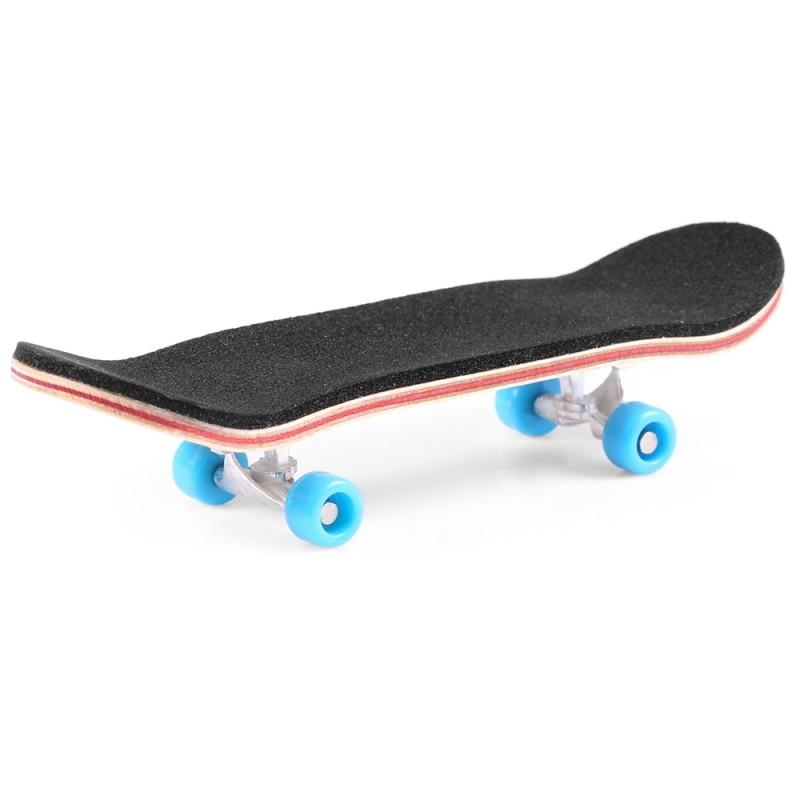 Kids Skate Park Kit Ramp Parts Wooden Finger Board Toys for Children Tech Deck Ultimate Sport Handrail Training Games Gift Props