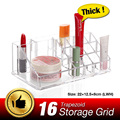 High Quality Makeup Organizer Transparent Desk Cosmetic Crystal Acrylic Case Box Jewelry Lipstick Holder EQC347
