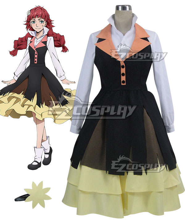 Anime Bungo Stray Dogs Lucy Maud Montgomery Cosplay Costume#free shipping