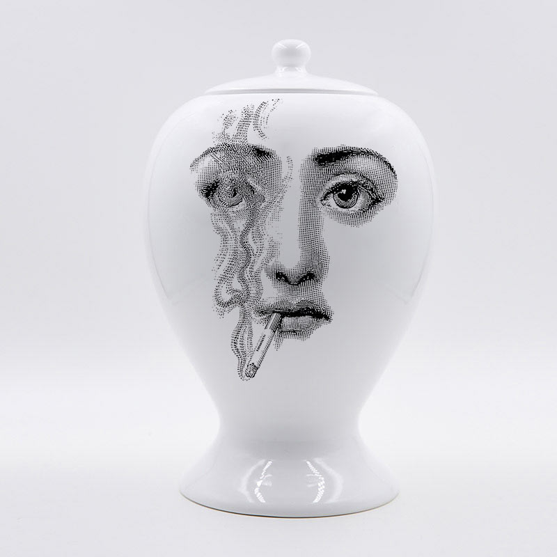 Arya Fornasetti Vase Decorative Home Decor Flower Pot European