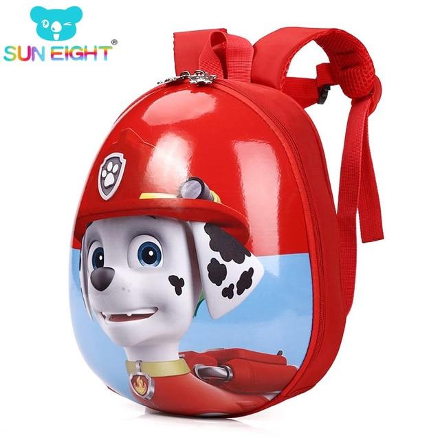 Шесть щенок Маленький мальчик рюкзак Cartton печати школьные сумки рюкзаки для мальчиков/девочек детский EVA