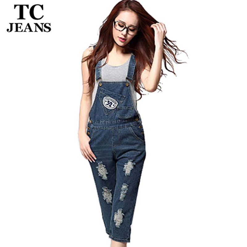 Popular Denim Capri Jumpsuit-Buy Cheap Denim Capri Jumpsuit lots ...