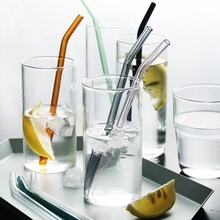 Straw-Bar-Tool Glass Juice Drinking-Straws Cocktail-Wedding-Birthday Reusable for Environmental-Protection