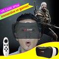 Caso gafas de realidad virtual 3d google cartón vr vr 5 plus pro smart wireless bluetooth ratón/control remoto gamepad 2
