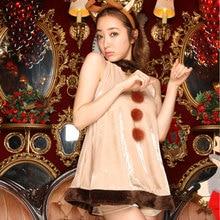 Europa Navidad Ciervos animales de Halloween cosplay DS trajes para mujeres erótico fantasía disfraces adultos Cosplay conjunto traje atractivo