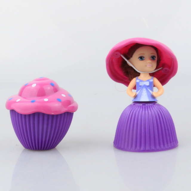 Transformed Scented Cartoon Cupcake Princess Dolls