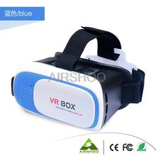 Newest Google Cardboard 3D Movie Glasses VR BOX II 2.0 Version Virtual Reality 3D Galasses+Bluetooth Remote Controller 5 Colors