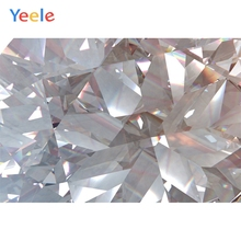 Yeele Triangular Diamond Crystal Shapes Professional Wedding Photography Backdrops Photographic Backgrounds For The Photo Studio