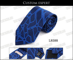 EMS/DHL 500 ШТ. Логотип Корейских мужчин личности железная дорога узором галстук мода велосипедов шаблон галстук Черепа графика галстуков