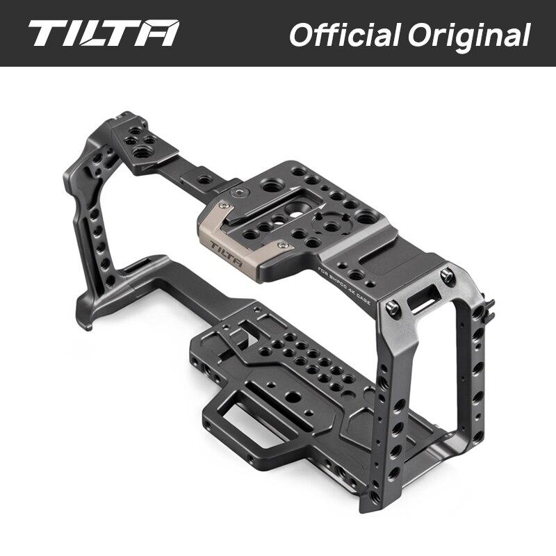 Tilta TA-T01-A-G Cage de caméra complète tous les accessoires pour BMPCC 4K caméra poignée supérieure poignée latérale en bois F970 batterie