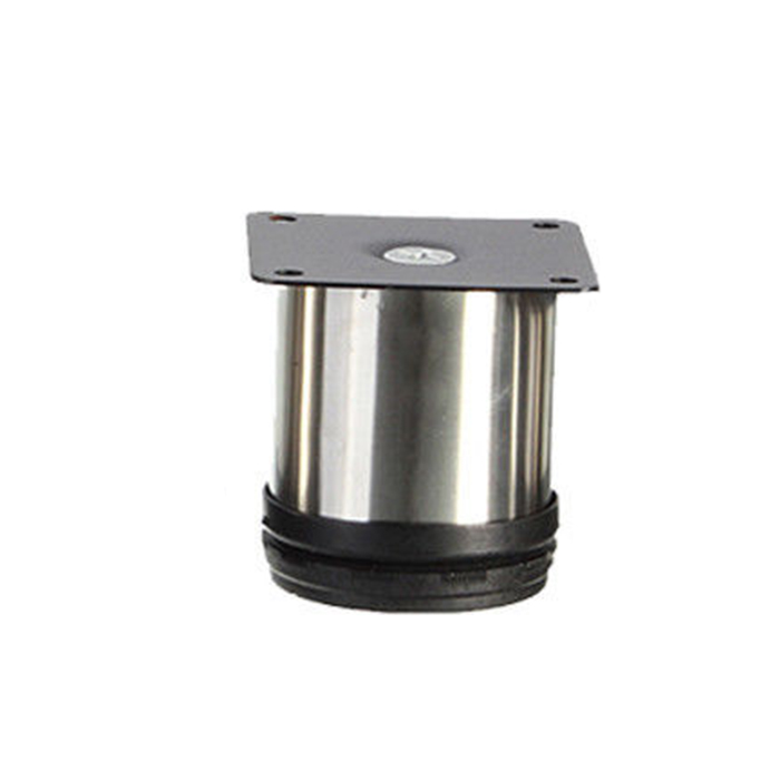 4pcs Cabinet Legs Adjustable Stainless Steel Furniture Feet Round Stand Holder 6cm China