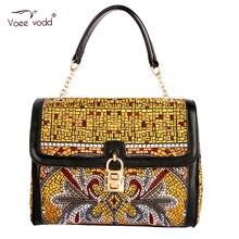 2015 старинные замок Moshino сумка женская 100% реального натуральная кожа Bolsos женщины VOEEVODD сумки сумки женщинам-известных брендов 65211