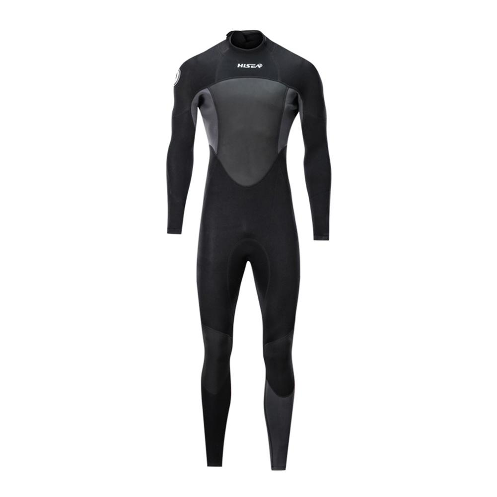 2018 New 1.5MM Diving Suit Male Warm Long sleeved Trousers Surf Clothing Snorkeling Suit Wetsuit Sports Swimming Wading Sports