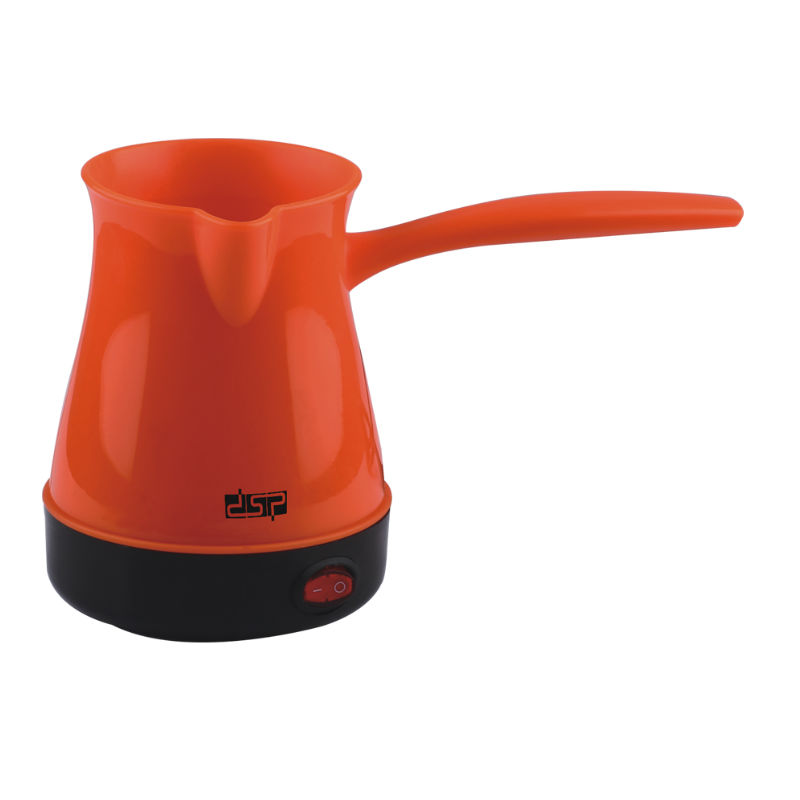 DSP portable mini electric coffee pot EU / UK plug coffee machine 600W 220V-240V coffee machine