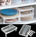 Hot Sale Great Under Sink Shelf Sink In Plate Dish Organizer Holder Shelf Kitchen Storage Free Shipping