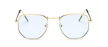 2021 Vintage Metal Women Sunglasses Luxury Brand Design Glasses Female Classic Driving Eyewear uv400 Oculos De Sol Masculino - C14