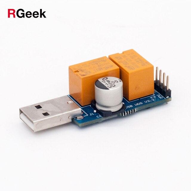 USB Cartão de Vigilância Autônoma Do Computador Servidor de Jogo Mineiro BTC Mineração Tela De Reinício Automático Azul