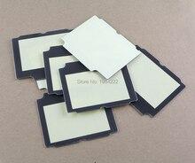 50 pièces/lot couvercle de lentille décran en plastique pour GameBoy Advance SP pour GBA SP avec adhésif