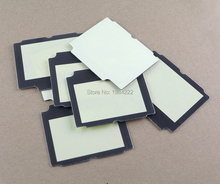 50pcs/lot plastic screen lens cover for GameBoy Advance SP for GBA SP with adhesive